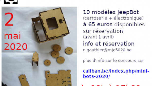 Atelier de Fabrication de Mini-Bots